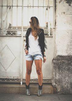 Blazer Feminino com franjas by For It Clothing