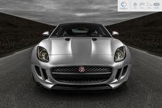 2013 Rhodium Silver Jaguar F-Type Coupe - shot for Jaguar Richmond/Cowell Auto Group. #Jaguar #FType #Coupe #Automotive #Car #Photography