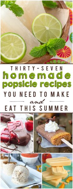 37 Homemade Popsicles You Need to Try This Summer!
