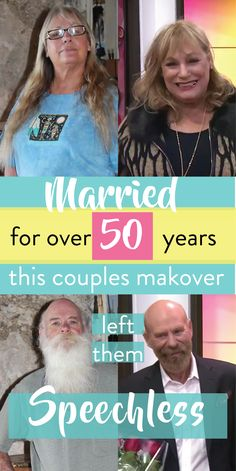 Over the 50 years they've been together, Jo and Kevin haven't changed much about their appearance—until they agreed to have this massive makeover.