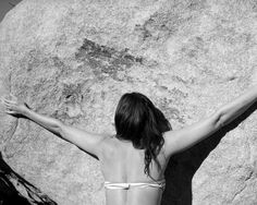 Available for sale from M+B, Whitney Hubbs, Untitled (Boulder) Gelatin silver print, 40 × 50 in Gelatin Silver Print, Bouldering, The Ordinary, Contemporary Art, Artsy, Songs, Portrait, Gallery, Amazing