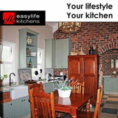 No matter your style preference is, Easylife Kitchens George can design, manufacture and install your new kitchen for you. Contact our office and speak to a consultant about your next kitchen or cupboards. #kitchens #cupboards