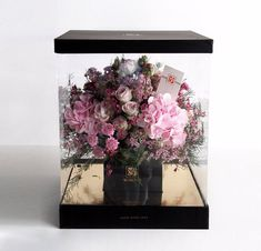 Worood Flower Box Fresh Flowers Online, Flower Boxes, Flower Delivery, Beautiful Flowers, Bouquet, Gift Wrapping, Day, Crafts, Window Boxes