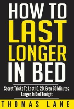 last longer in bed tonight
