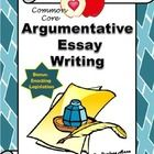 Argument Writing: This argumentative writing unit is comprehensive and easy to use! It includes a step-by-step approach to help your students writ...