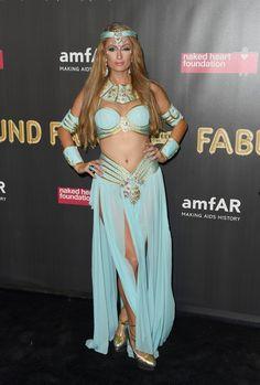 Paris Hilton attends the 2017 amfAR Fabulous Fund Fair at Skylight Clarkson Sq on October 28, 2017 in New York City.