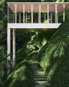 Interior Exterior, Exterior Design, Landscape Architecture, Interior Architecture, Fashion Architecture, Chinese Architecture, Ancient Architecture, Casa Steampunk, Art Et Design
