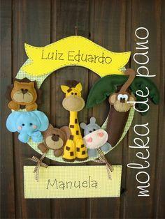 Guirlanda Infantil selva