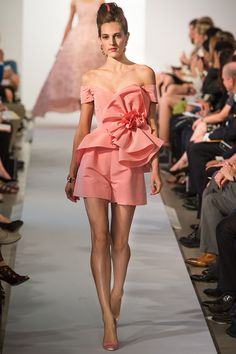 Oscar de la Renta Ready to Wear 2013 - Fashion Diva Design
