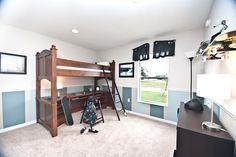 Lindsey II Floor Plan | Highland Homes, skateboard shelves