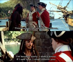 Jack Sparrow is a boss.