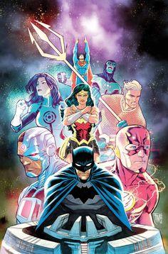 Frankensteining 24 DC Comics Solicits For June 2017 – Joker Vs Riddler Begins, Sejic On Aquaman And Rocafort on Titans