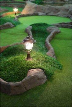 Golf Club Sets, Golf Clubs, Backyard Putting Green, Putt Putt Golf, Crazy Golf, Golf Green, Miniature Golf, Best Golf Courses, Backyard Games