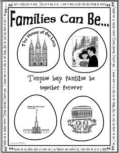 LDS file folder games! Perfect quiet activities for General Conference Weekend!!