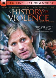 A History of Violence(David Cronenburg). A great movie. William Hurt is fantastic in the closing scenes. Highly recommended by me.