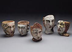 Debra Fritts.  Nice for pinch pot inspiration in the classroom.