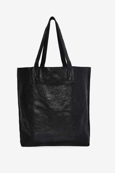 Hold Your Own Metallic Leather Tote Bag | Shop Accessories at Nasty Gal!