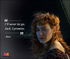 Tatanic came out in 1997 and then went on to make a gazillion cold hearts goo. So here're 11 Titanic love quotes; go ahead, bawl your eyes out, my pretties! Titanic Movie Quotes, Titanic Funny, Famous Movie Quotes, Rose Love Quotes, Falling In Love Quotes, Go For It Quotes, Be With You Movie, Love Movie, Kate Titanic