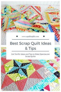 Best Scrap Quilt Ideas Tips