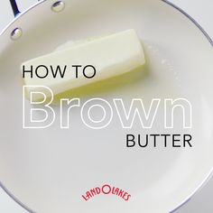 Browning butter may sound a little intimidating, but it is really very easy to do. With a few quick tips, you will soon be on your way to adding brown butter and its nutty flavor and aroma to a variety of baked goods and meals in your very own kitchen.