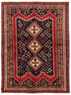 Tapis persans - Afshar  Dimensions:202x148cm