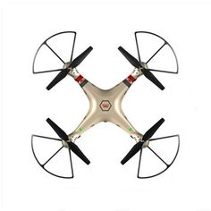 Syma X8HC With 2MP HD Camera 2.4G 4CH 6Axis Altitude Hold Headless Mode RC Quadcopter RTF
