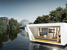 tubiq is a modular concept that combines a boat and a living area tuvie i wanna sleep there. Black Bedroom Furniture Sets. Home Design Ideas