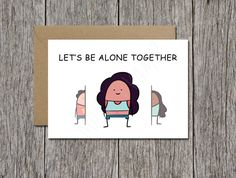 Star trek card i love you i know geek valentine's card geeky