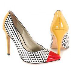 8e8b273ddd3 Sapato Scarpin Carmim 23346 Branco