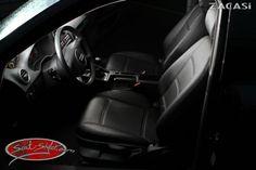 Design der Sitzbezüge: Paris: Leder-Optik (ZACASi Lederimitat) schwarz - mit vorher-nachher  #Audi #Audia3 #Design #Paris #Sitzkonfigurator #Zacasi #Autositzbezuege #bestprice #lederimitat