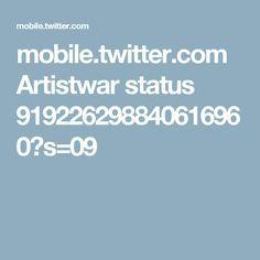 mobile.twitter.com Artistwar status 919226298840616960?s=09