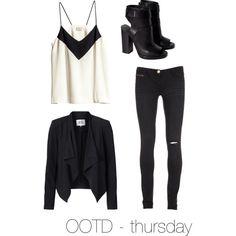 """""""OOTD - thursday"""""""