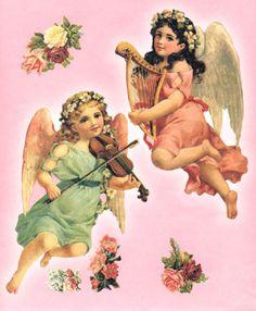 victorian angels | Victorian Cherubs
