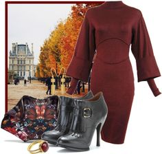 """""""Paris In The Fall"""" by ssquared on Polyvore"""