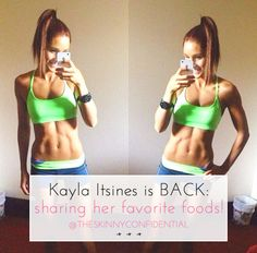 ::One of my favorite fitness instagrammers is back at TSC. Kayla Itsines talks about her favorite foods, snacks and drinks. Exciting much? Click here to learn more!::