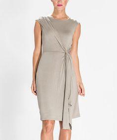 Look at this #zulilyfind! Aluminum Sleeveless Dress by Amelia #zulilyfinds