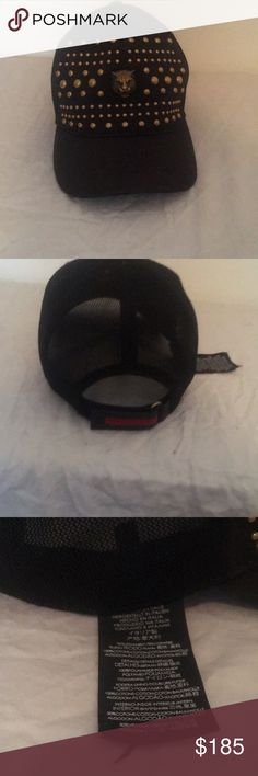 340acdce57f69 Gucci hat Black w  Gold hardware Gucci Accessories Hats