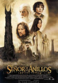 High quality reproduction movie poster for The Lord of the Rings: The Two Towers starring Elijah Wood, Ian McKellen and Orlando Bloom from 11 x 17 high quality reproduction on card stock. Legolas Et Gimli, Aragorn, Gandalf, Frodo Baggins, The Lord Of The Rings, The Ring Two, Ian Mckellen, See Movie, Film Movie