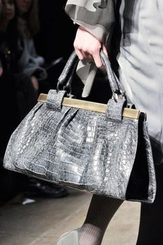 Grey Handbag-Handbag Trends 2016-2017