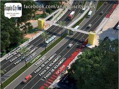 ANAPOLIS CITY NEWS: Transporte Público   Projeto Prevê Uso Dos Canteir...