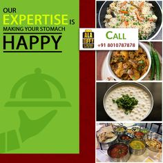Our mission is to make your stomach healthy and happy because when you eat well you think well. Call +91-8010787878 to order now. #Alatiffy #HealthyFood #TastyFood #Online #Food #TiffinService