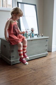 Babiekins Magazine   Lil Stylekins   Bobo Choses Tank Socks