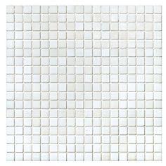 #Sicis #Natural Snow 1,5x1,5 cm | Muranoglass | im Angebot auf #bad39.de 154 Euro/Pckg. | #Mosaik #Bad #Küche