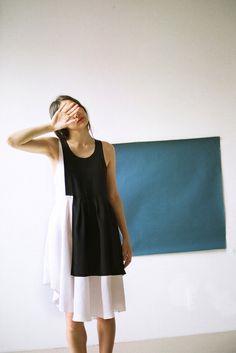 Correll Correll Block Dress | Oroboro Store