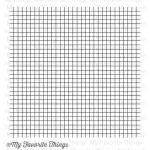 My Favorite Things Cling Background Stamp, Grid