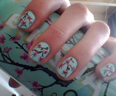 love arizona green tea, love these nails