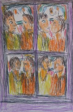Confrontation II by David Koloane | DAVID KRUT PROJECTS