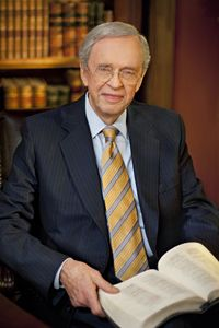 Dr. Charles Stanley - Pastor of First Baptist Church in Atlanta.  I went to hear him preach about 2006.