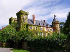 Château de Ludaix - Marcillat en Combraille, Allier