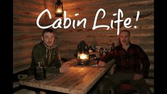 OFF GRID LOG CABIN Overnight!- Bear Ribs, Cold Temps, Firewood.. My Self...